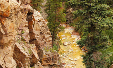 Mining Sludge Contaminates River