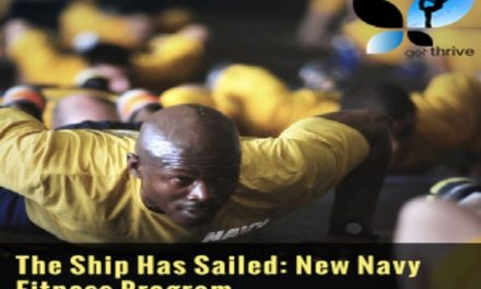The Ship Has Sailed: New Navy Fitness Program
