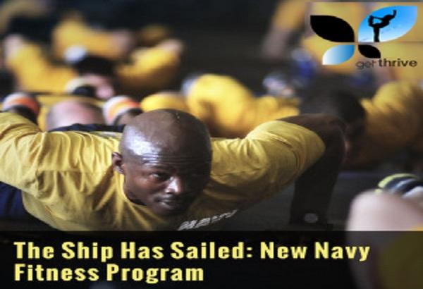 The Ship Has Sailed: New Navy Fitness Program