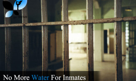 No More Water For Inmates