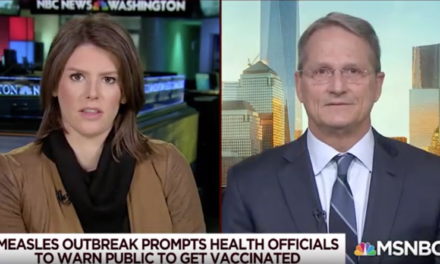 Dr. Dave Campbell on MSNBC's Morning Joe – Vaccinations