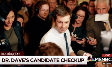 Dr Dave's Candidate Checkup: Pete Buttigieg